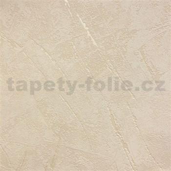 Vliesové tapety na zeď La Veneziana 3 omítkovina krémová