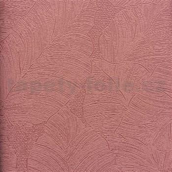 Vliesové tapety na zeď La Veneziana 3 listy vínové