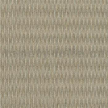 Vliesové tapety na zeď La Veneziana 4 stromečkový vzor zlatý na šedém podkladu
