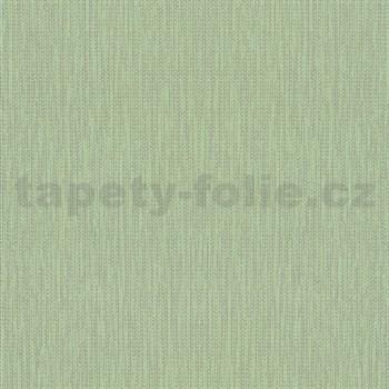Vliesové tapety na zeď La Veneziana 4 stromečkový vzor stříbrný na limetkovém podkladu