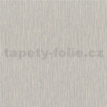 Vliesové tapety na zeď La Veneziana 4 stromečkový vzor stříbrný na béžovém podkladu