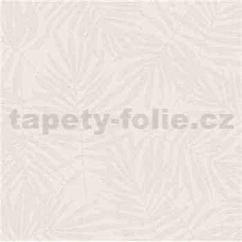 Vliesové tapety na zeď La Veneziana 4 kapradí béžové na krémovém podkladu