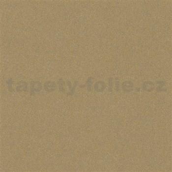 Vliesové tapety na zeď La Veneziana 4 strukturovaná zlatá na šedém podkladu