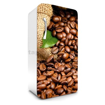 Samolepící tapety na lednici kávová zrnka rozměr 120 cm x 65 cm