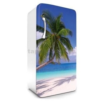 Samolepící tapety na lednici pláž rozměr 120 cm x 65 cm