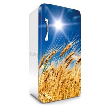 Samolepící tapety na lednici pšeničné pole rozměr 120 cm x 65 cm