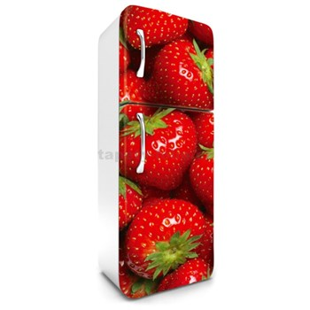 Samolepící tapety na lednici jahody rozměr 180 cm x 65 cm