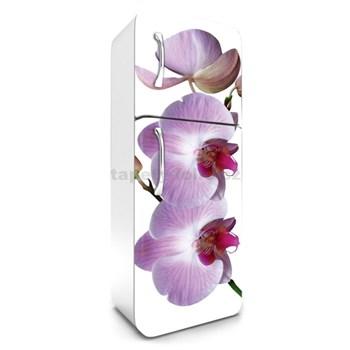 Samolepící tapety na lednici fialová orchidej rozměr 180 cm x 65 cm