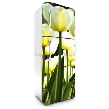 Samolepící tapety na lednici žluté tulipány rozměr 180 cm x 65 cm