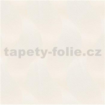Luxusní vliesové tapety na zeď Colani Legend vlny krémové