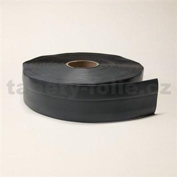 Podlahová lemovka z PVC tmavě šedá 5,3 cm x 40 m