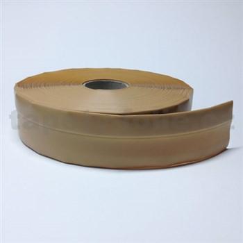 Podlahová lemovka z PVC samolepící béžová 5,3 cm x 25 m