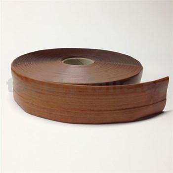 Podlahová lemovka z PVC samolepící dřevo světle hnědé 5,3 cm x 30 m