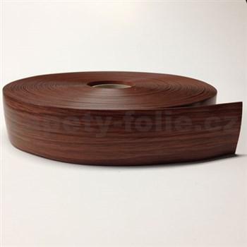 Podlahová lemovka z PVC samolepící jilm hnědý 5,3 cm x 25 m