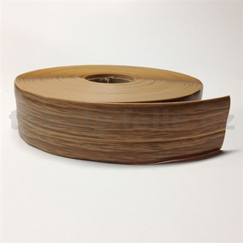 Podlahová lemovka z PVC samolepící jilm béžovo-hnědý 5,3 cm x 25 m