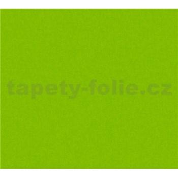 Dětské vliesové tapety na zeď Little Stars jednobarevné tmavě zelené