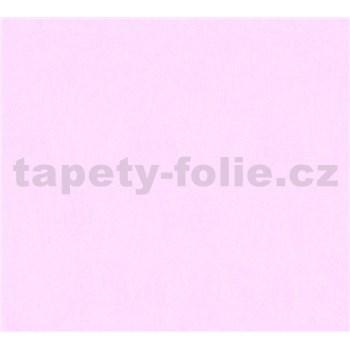 Dětské vliesové tapety na zeď Little Stars jednobarevné růžové