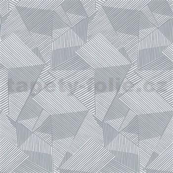 Moderní tapety na zeď IMPOL Novella hrany tmavě šedé