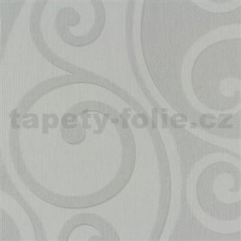 Vliesové tapety na zeď Di Moda Secese světle šedá