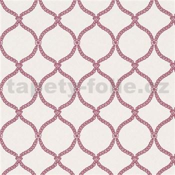 Vliesové tapety na zeď Zuhause Wohnen3 - Vintage style růžové