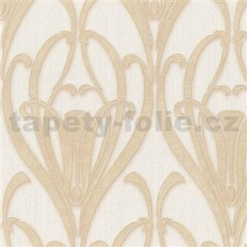 Vliesové tapety IMPOL Mata Hari Art-Deco béžové