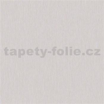 Vliesové tapety na zeď Mixing strukturované proužky světle šedé s třpytkami
