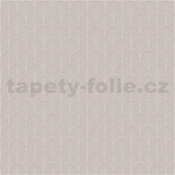 Vliesové tapety na zeď My Raid stromečkový vzor hnědo-šedý