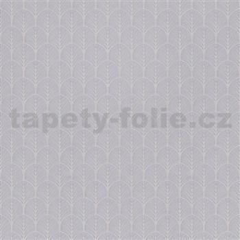 Vliesové tapety na zeď My Raid stromečkový vzor šedo-hnědý