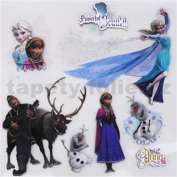 Samolepky na zeď 3D Frozen rozměr 30 cm x 30 cm