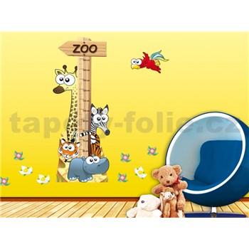 Samolepky na zeď Animal Meter 65 cm x 165 cm