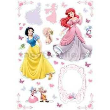 Samolepky na zeď - princezny
