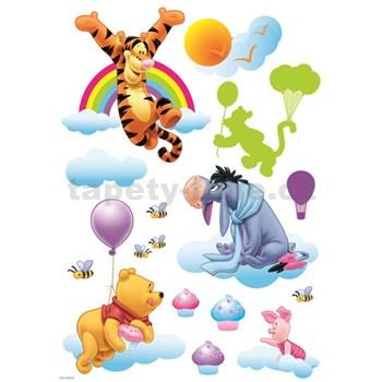 Samolepky na zeď dětské - medvídek Pú 83,5 x 50 cm
