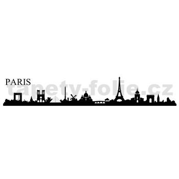 Samolepky na zeď Paříž 164 x 38 cm