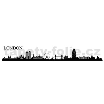 Samolepky na zeď Londýn 164 x 38 cm