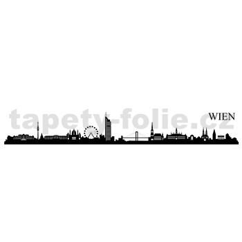 Samolepky na zeď Vídeň 164 x 38 cm