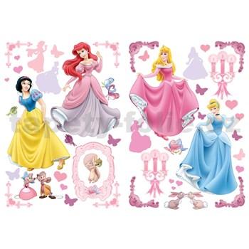Samolepky na zeď Disney Princezny rozměr 2 x 45 x 65 cm