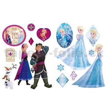 Samolepky na zeď Frozen rozměr 45 x 65 cm