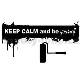Samolepky na zeď Keep Calm