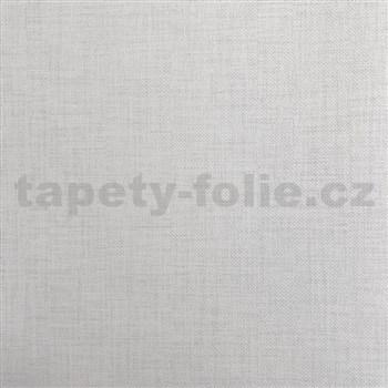Vliesové tapety na zeď Natalia struktura bílá s šedým žíháním