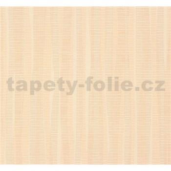 Vliesové tapety na zeď NENA abstrakt hnědo-oranžový