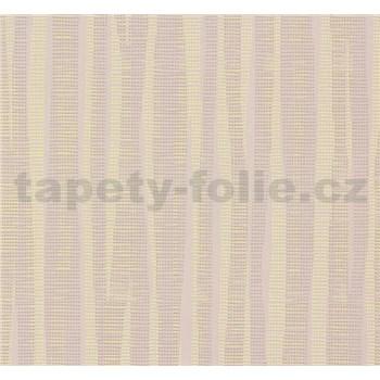 Vliesové tapety na zeď NENA abstrakt reflexní žlutý