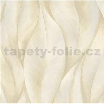 Vliesové tapety na zeď IMPOL New 21 listy béžovo-zlaté
