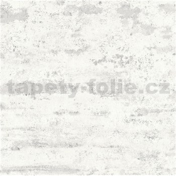 Vliesové tapety na zeď IMPOL New Studio moderní stěrka bílo-šedá