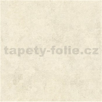 Vliesové tapety IMPOL New Wall metalická omítkovina krémovo-stříbrná
