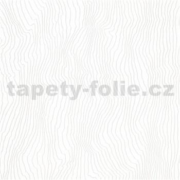 Vliesové tapety na zeď IMPOL New Modern nepravidelné vlnovky bílé