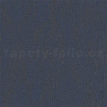 Vliesové tapety IMPOL New Modern nepravidelné vlnovky modré