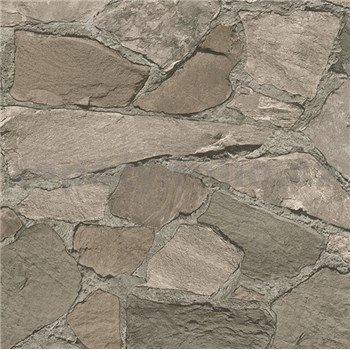 Vliesové tapety na zeď Belinda kameny tmavě hnědé