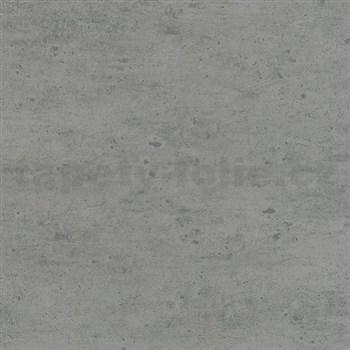 Vliesové tapety na zeď Alizé beton šedý