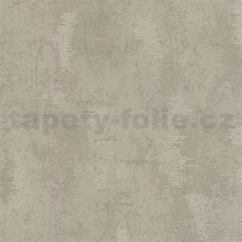Vliesové tapety na zeď Belinda strukturovaná omítkovina hnědá