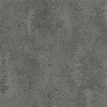 Vliesové tapety na zeď Belinda strukturovaná omítkovina černá